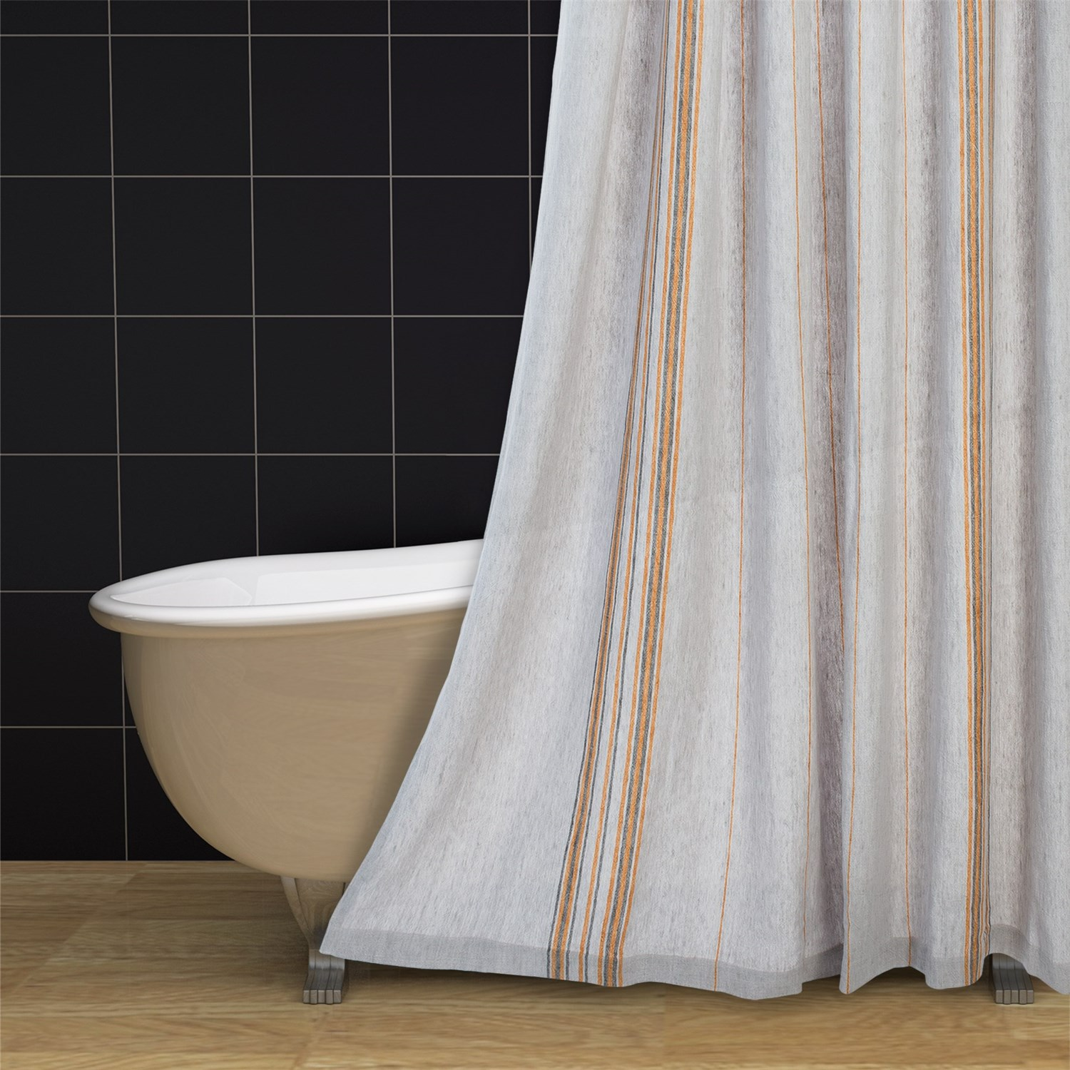 Coyuchi Rustic Linen Shower Curtain 105rm Save 66
