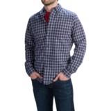 Slate & Stone Poplin Check Shirt - Long Sleeve (For Men)