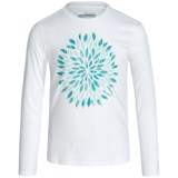 Columbia Sportswear Be Wild Graphic T-Shirt - Long Sleeve (For Little and Big Girls)