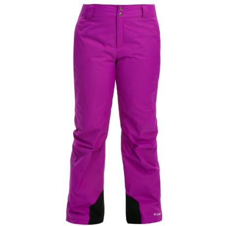 Columbia Sportswear Bugaboo Omni-Heat® Ski Pants (For Plus Size Women)