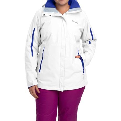 Columbia Sportswear Bugaboo Interchange Omni-Heat® Jacket - Waterproof, 3-in-1 (For Plus Size Women)