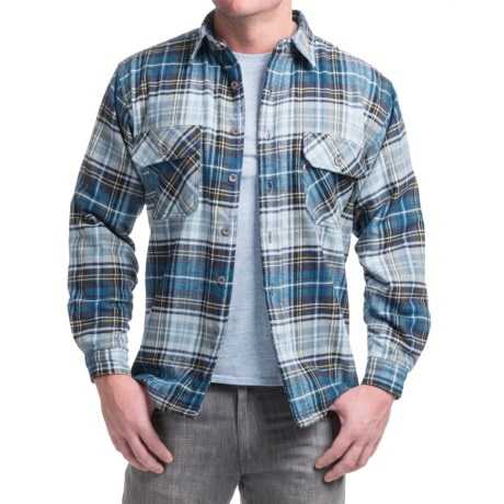 Moose Creek Ponderosa Flannel Shirt Jacket - Long Sleeve (For Men)