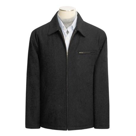 Woodlake Design Wool Blend Coat (For Men)
