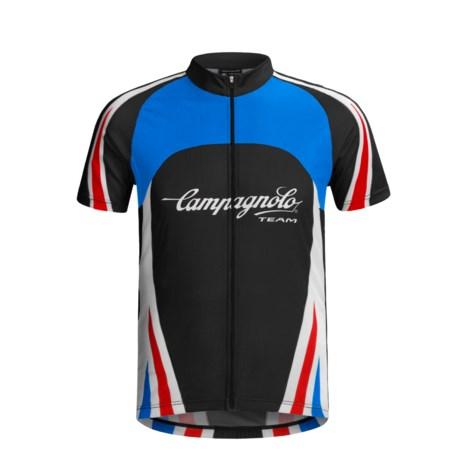 Campagnolo Team Full-Zip Jersey - Short Sleeve (For Men)
