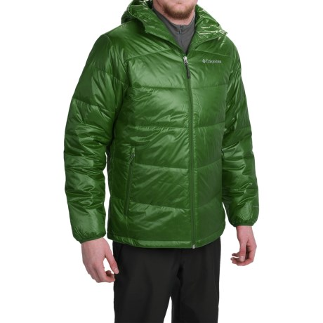 Columbia Sportswear Gold 650 TurboDown® Omni-Heat® Hooded Jacket - 550 Fill Power (For Men)