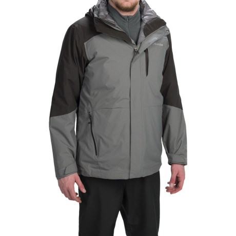 Columbia Sportswear Element Blocker Interchange Omni-Tech® Hooded Jacket - Waterproof, Insulated, 3-in-1 (For Men)