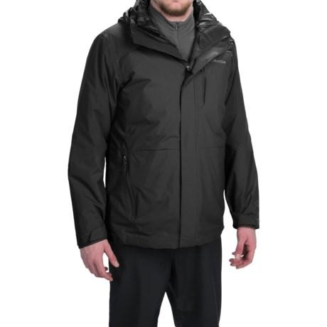 Columbia Sportswear Element Blocker Interchange Omni-Tech® Hooded Jacket - Waterproof, Insulated, 3-in-1 (For Men)