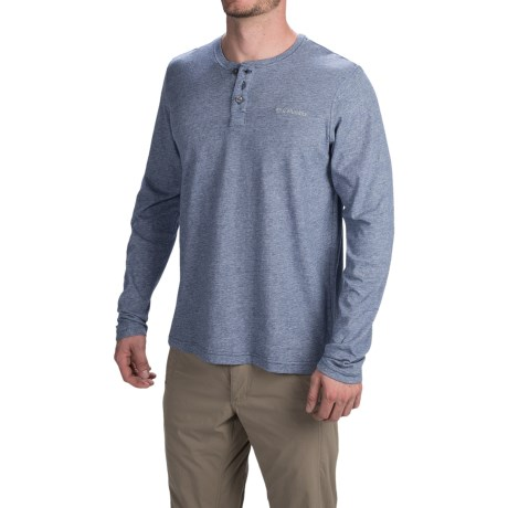 Columbia Sportswear Alpine Thistle Henley Shirt - Long Sleeve (For Men)