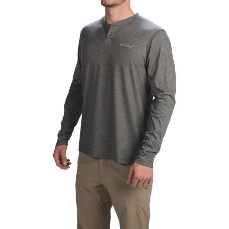 Columbia Sportswear Wildberry Omni-Wick® Henley Shirt - UPF 15, Long Sleeve (For Men)