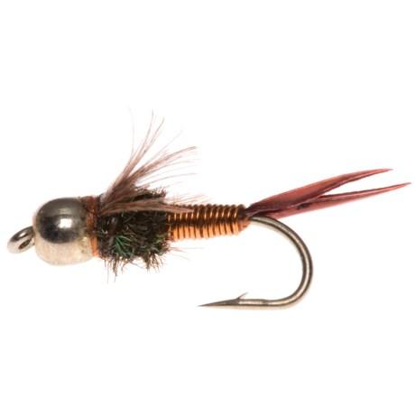 Montana Fly Company Beadhead Epoxyback Copper Nymph Fly - Dozen