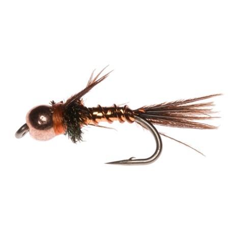 Montana Fly Company Beadhead Lightning Bug Nymph Fly - Dozen