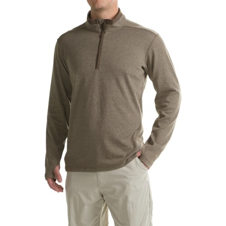 ExOfficio Javano Shirt - UPF 15+, Zip Neck, Long Sleeve (For Men)