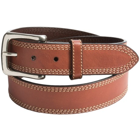 G Bar D Milled Leather Belt (For Men)