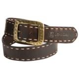 John Deere Laced Leather Belt (For Women)