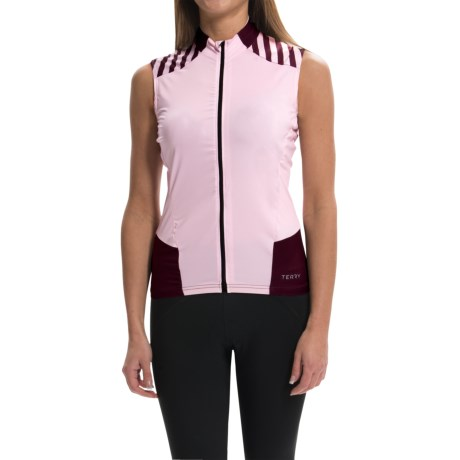Terry Echelon Cycling Jersey - Sleeveless (For Women)