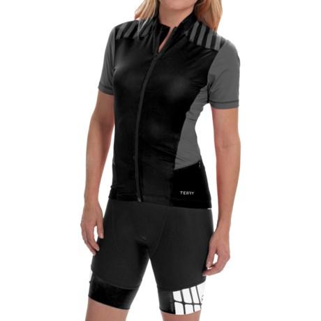Terry Echelon Cycling Jersey - Short Sleeve (For Women)