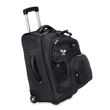"High Sierra AT3 Rolling Suitcase - 22"", Removable Backpack"
