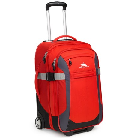 High Sierra Sportour Carry-On Rolling Upright Suitcase - 22""