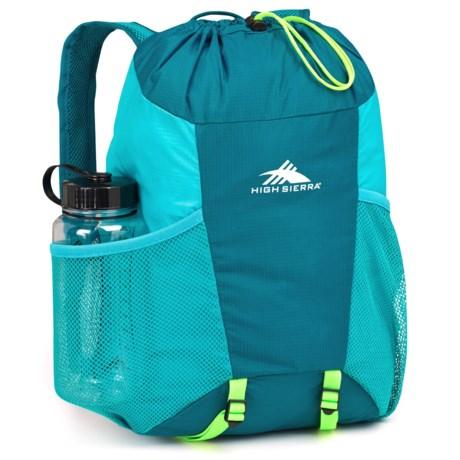 High Sierra Pack-N-Go 2 15L Backpack in a Bottle - BPA-Free