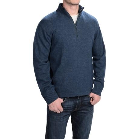 Woolrich Granite Springs II Sweater - Lambswool, Zip Neck (For Men)