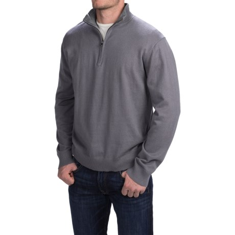 Woolrich Highlands Sweater - Zip Neck (For Men)