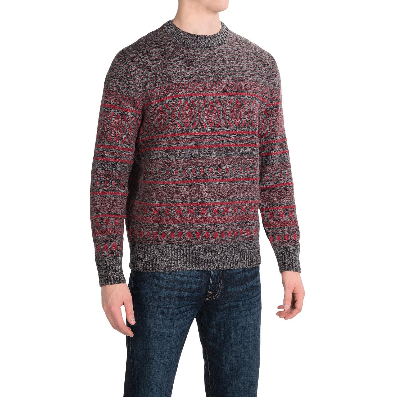 Woolrich Fair Isle Sweater 100