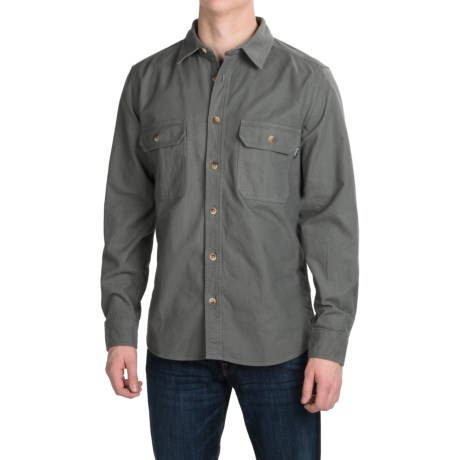 Woolrich Expedition Chamois Shirt - Long Sleeve (For Men)