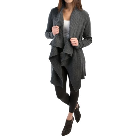 Woolrich Clapshaw Long Cardigan Sweater (For Women)