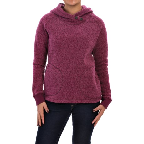 Woolrich Double Creek Fleece Hoodie (For Women)