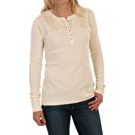 Woolrich Fairmount Henley Shirt - Long Sleeve (For Women)
