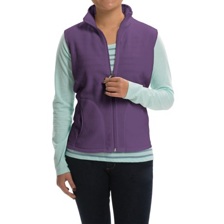 Woolrich Andes Fleece Vest - Full Zip (For Women)