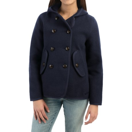 Woolrich Century Wool Peacoat - Button Front (For Women)