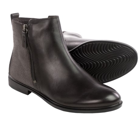 ECCO Touch 15 Scale Ankle Boots - Leather (For Women)