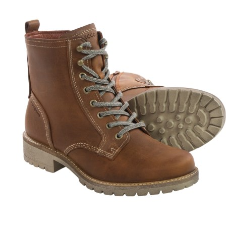 ECCO Elaine Leather Boots (For Women)