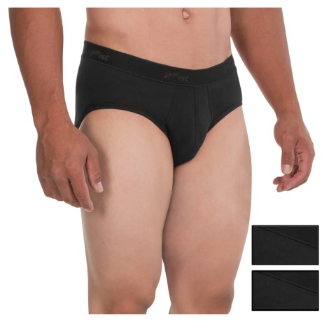 2(x)ist Essential Contour Pouch Briefs - 3-Pack (For Men)