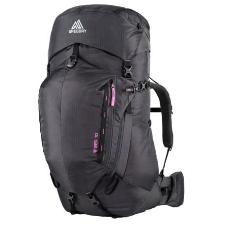 Gregory Amber 70 Backpack - Internal Frame (For Women)
