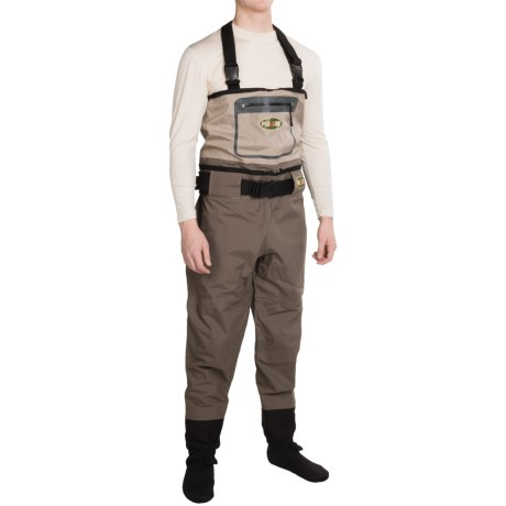 Proline Pro Line High Water Convertible Chest Waders - Stockingfoot (For Men)