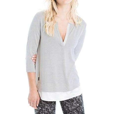 Lole Abby Tunic Shirt - Lenzing Modal®, 3/4 Sleeve (For Women)