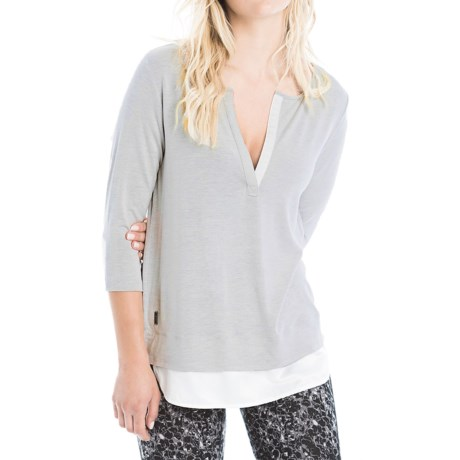 Lole Abby Tunic Shirt - Lenzing Modal®, 3/4 Sleeve (For Women)