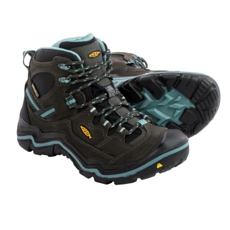 Keen Durand Mid Hiking Boots - Waterproof, Nubuck (For Women)
