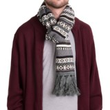 Hipster Fair Isle Scarf (For Men and Women)