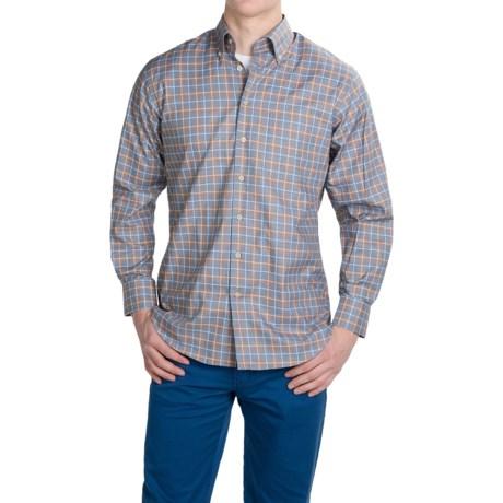 Scott Barber James Cotton Dobby Shirt - Long Sleeve (For Men)