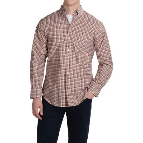 Scott Barber James Compact Poplin Shirt - Long Sleeve (For Men)