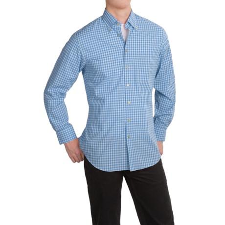 Scott Barber James Plain Weave Cotton Shirt - Long Sleeve (For Men)