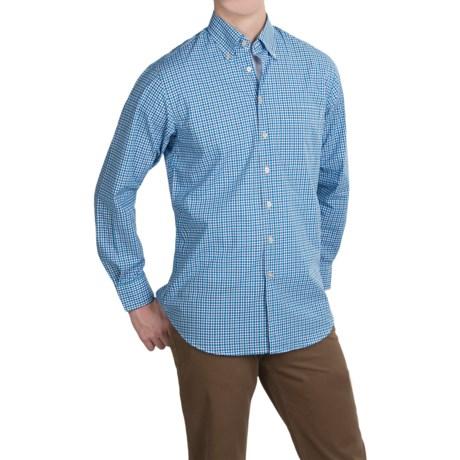 Scott Barber James Cotton Poplin Shirt - Long Sleeve (For Men)