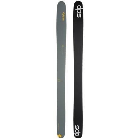 DPS Wailer 112 RPC Hybrid Alpine Skis - Matte Finish