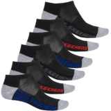 Skechers Terry Low-Cut Socks - 6-Pack, Below the Ankle (For Little and Big Boys)
