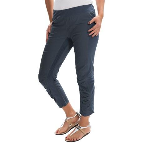 XCVI Jetter Crop Leggings - Stretch Poplin and Jersey (For Women)
