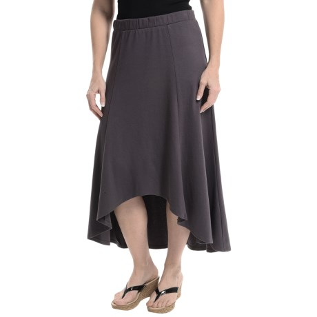 XCVI Solano High Low Cotton Jersey Skirt (For Women)