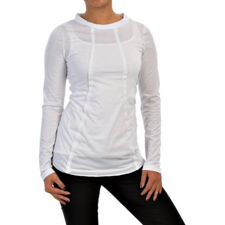 XCVI Lildi Spun Stretch Jersey Shirt - Long Sleeve (For Women)